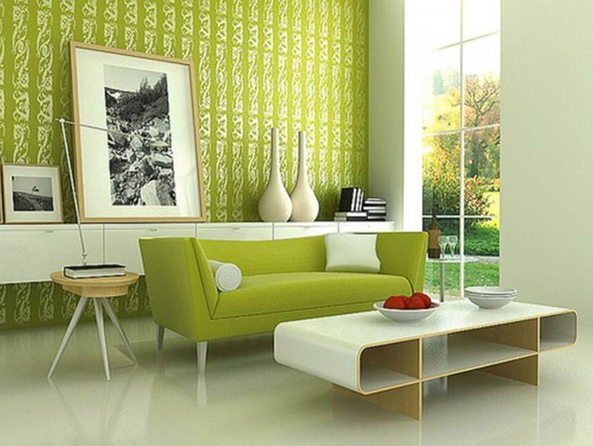 Green Color To Make Home Look Fresh