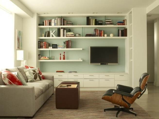Living Room Design With Minimalist Style