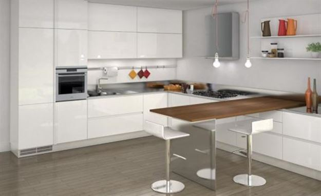 Minimalist Kitchen Dining Table Design Idea