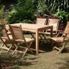 Minimalist Teak Furniture For Small Garden