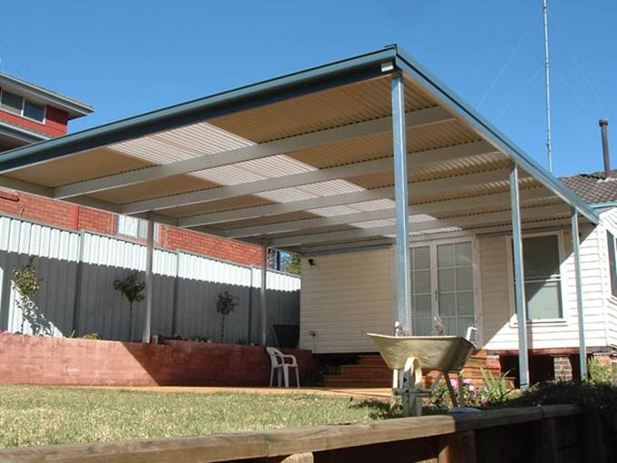 Modern Carport Design For Minimalist Home