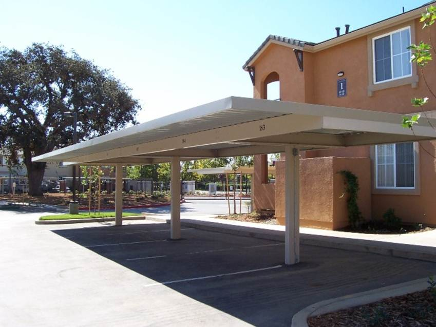 Minimalist Home Roof Carport Design Idea - 4 Home Ideas