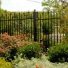 Modern Home Fence Made Of Iron
