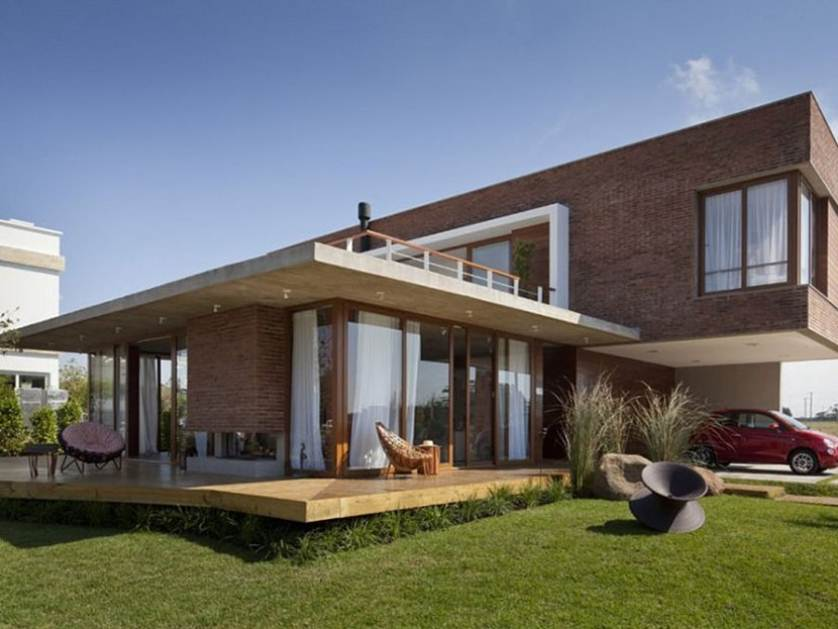 Modern House Architecture With Minimalist Style