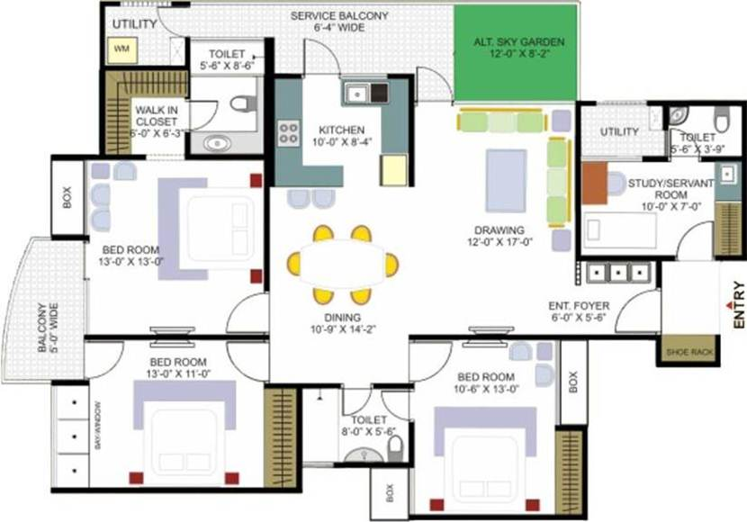 Modern House Plan With Affordable Design