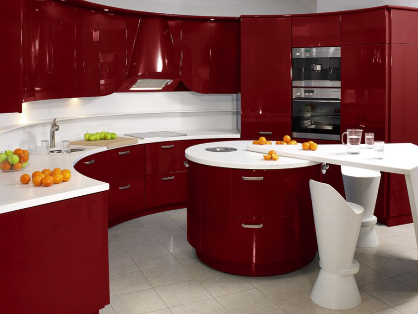 Modular Kitchen Color Combination Idea