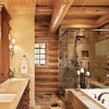 Nice Bathroom Design With Western Style