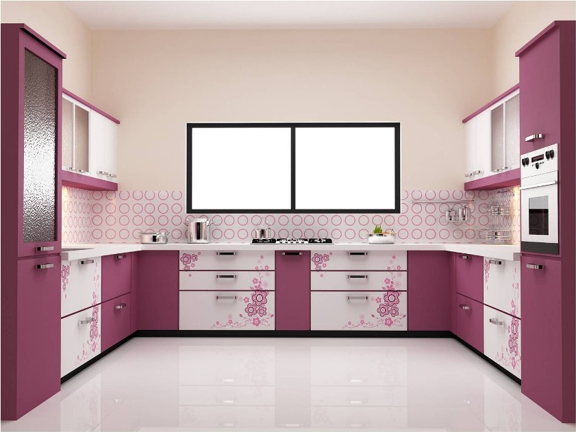 Nice Color Combination For Modern Kitchen