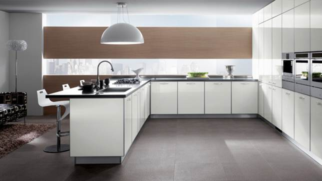 Elegant Nice Kitchen Design With Minimalist Style