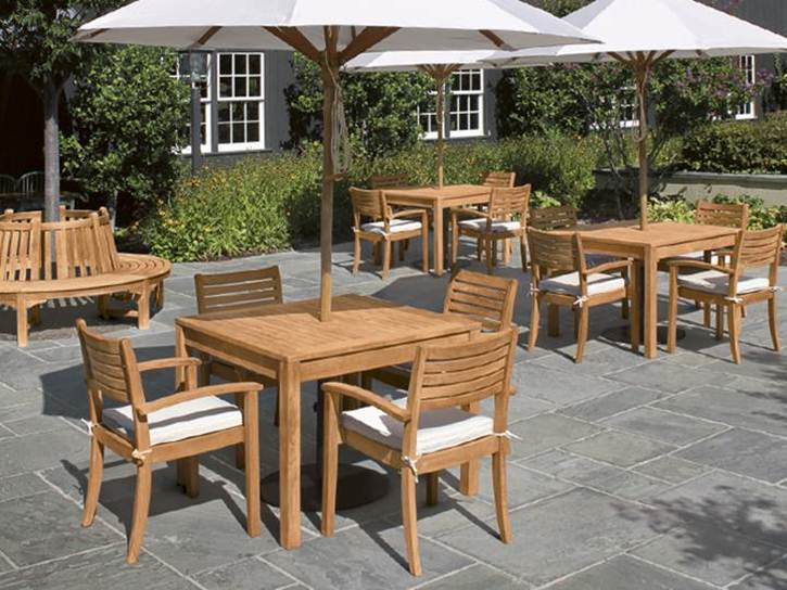 Nice Teak Garden Furniture Design Idea