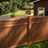 Nice Wooden Home Fence Design Idea