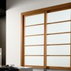 Nice Wooden Sliding Door Design