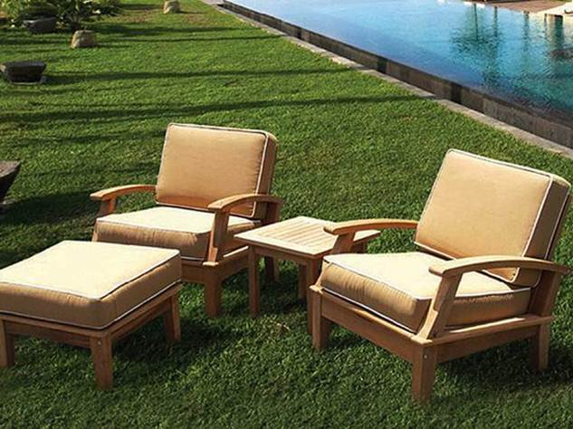 Simple Small Teak Garden Furniture