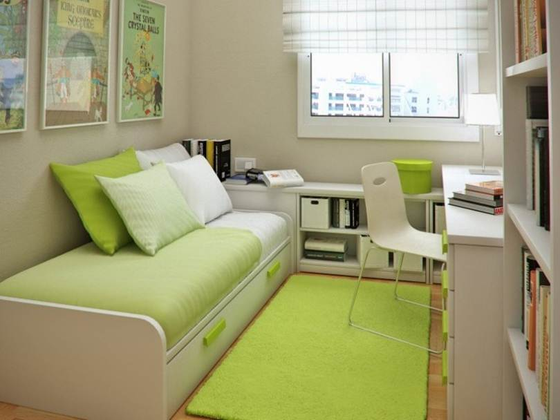 Small Bedroom Color Decoration Idea