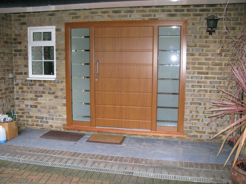 Solid Teak Sliding Door For Front House