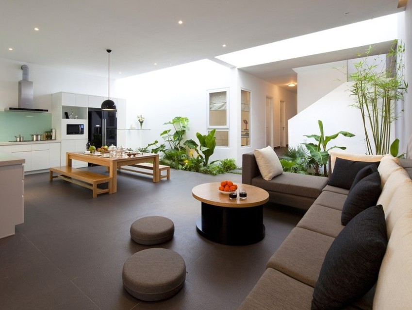 Tips To Make Living Room Garden Design