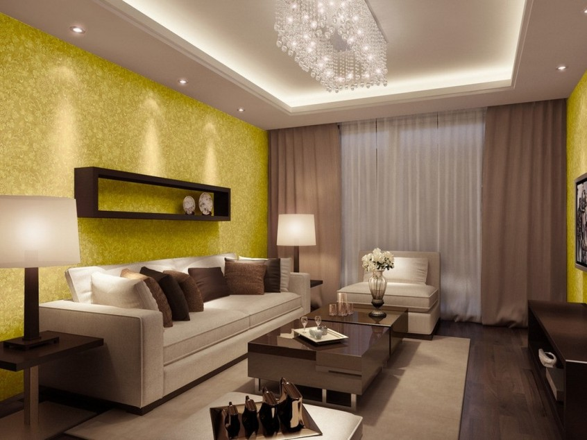 Wallpaper Design To Beautify Living Room