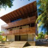 Wooden 2 Storey Tropical House design