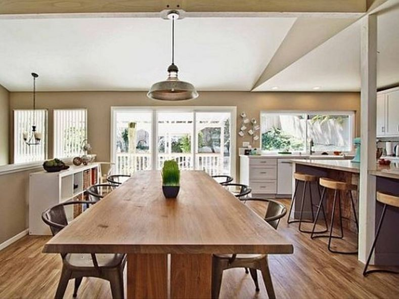 Wooden Dining Table For Kitchen Furniture