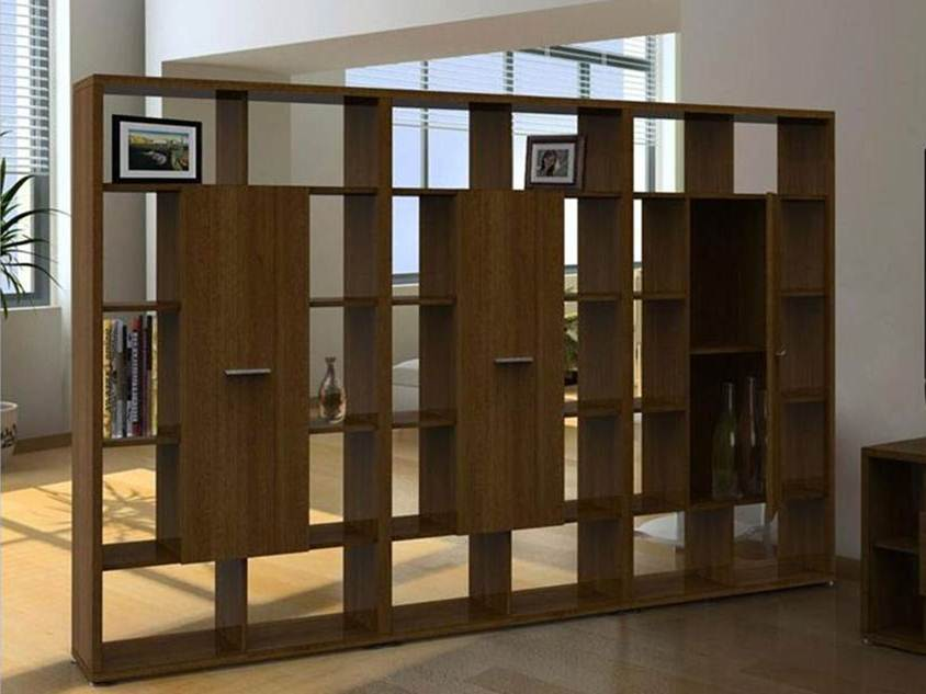 Wooden Divider Design For Living Room