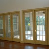 Wooden Frame For Glass Sliding Door