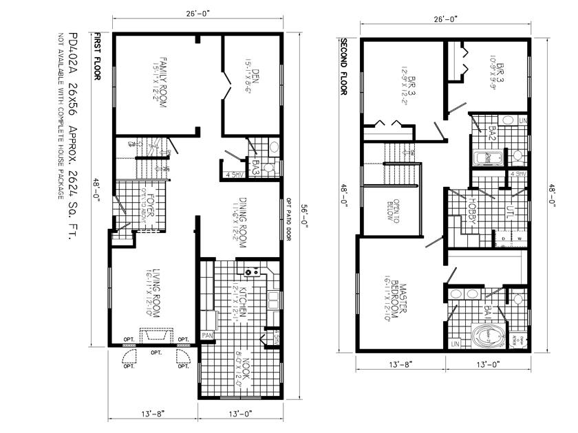 Nice home plan to build 2 floor urban home 4 home ideas for Minimalist home design floor plans