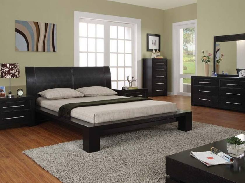 Affordable Bedroom Decoration With Modern Furniture