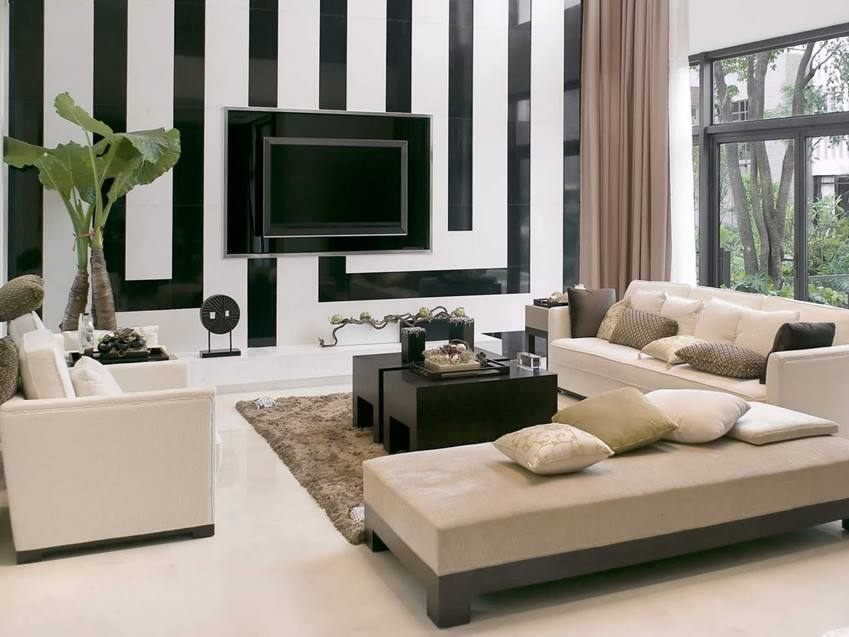 Affordable Living Room Decor With Modern Furniture