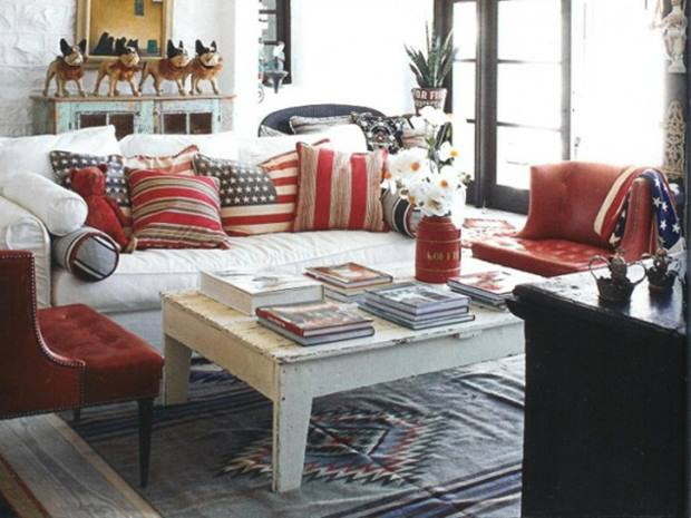 Latest americana home decor that become trend in 2014 4 for Americana style house