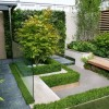 Beautiful Minimalist Urban Garden Layout