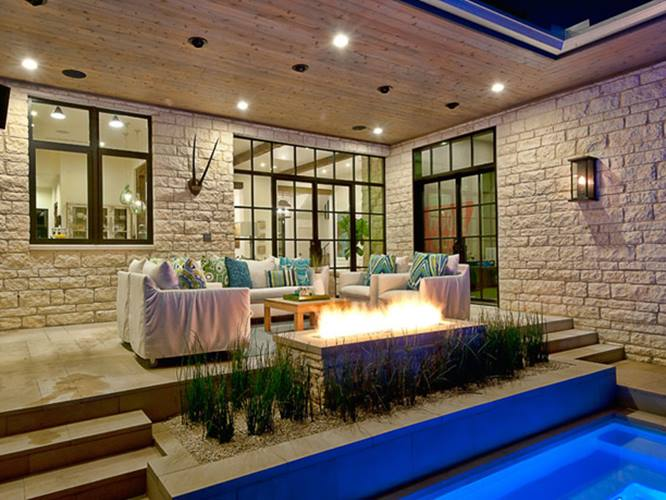 Beautiful Terrace Wall And Floor Material