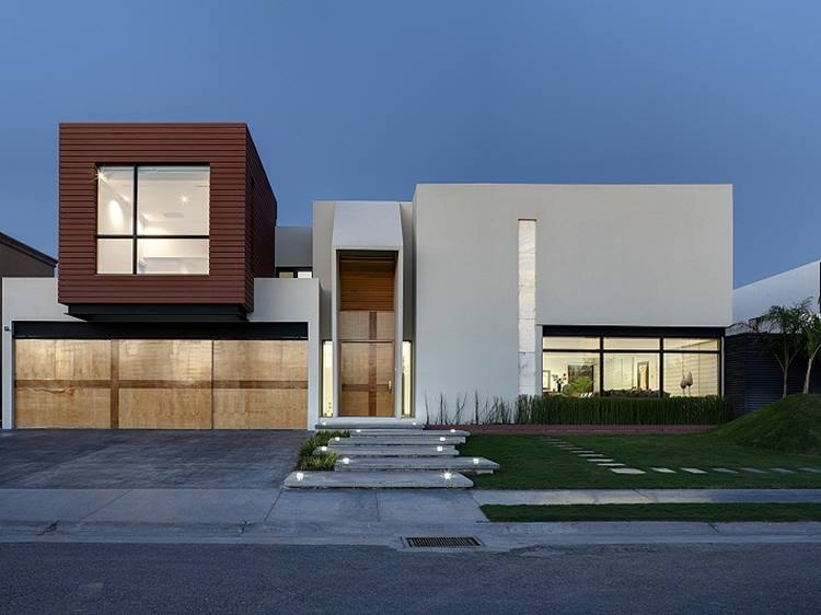 Color Combination For Minimalist House Facade