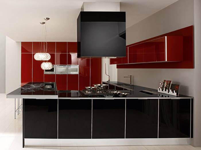 Color Combination Idea For Modern Kitchen