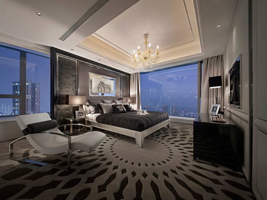 Color Design For Luxury Bedroom Interior