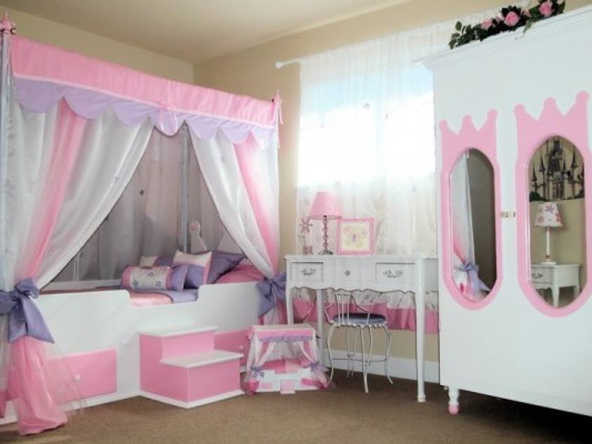 Color Selection For Girl Bedroom Furniture