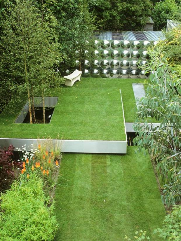 Decorating Idea For Urban Garden Design