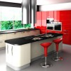 Elegant Color Combination For Modern Kitchen