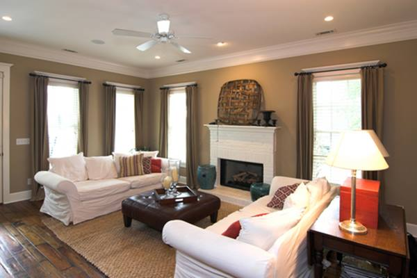 Elegant DIY Living Room With Gray Color