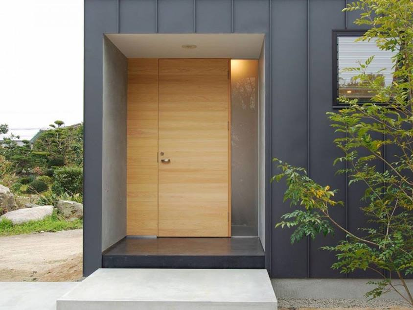 Elegant Front Door For Modern House