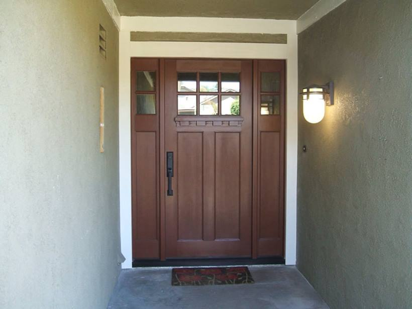 Front Door Design With Minimalist Design