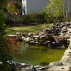 Home Garden Design With Small Fish Pond