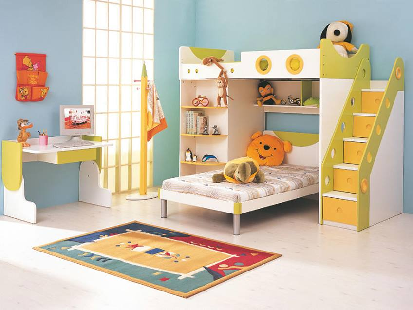 How To Choose Colorful Kids Furniture