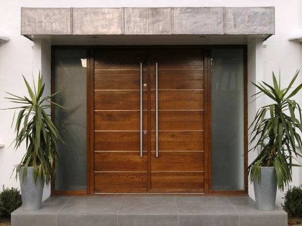Luxury Wooden Door Design Model