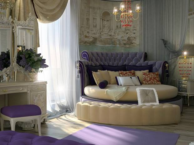 Main Bedroom Design With Luxury Decoration