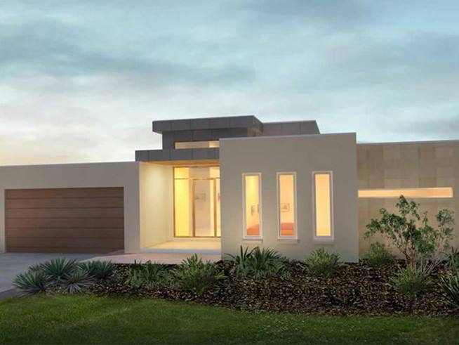 Minimalist One Storey House With Modern Art This Minimalist Style Home Design Because The Concept Is Minimalist