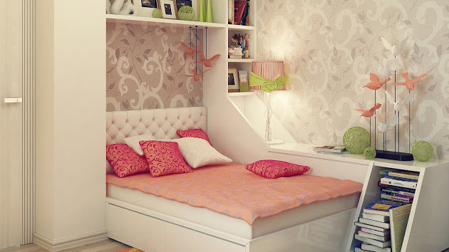 Minimalist Bedroom Design For Teen