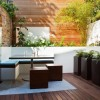 Minimalist Furniture For Urban Garden Decor