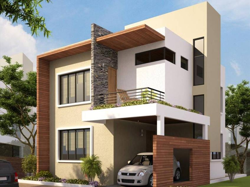 Minimalist Home Exterior Design Characteristic