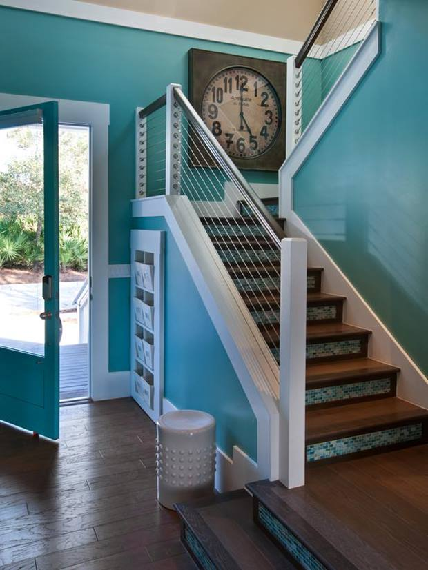 Turquoise paint color for trend minimalist house 4 home ideas - Exterior painting costs minimalist ...