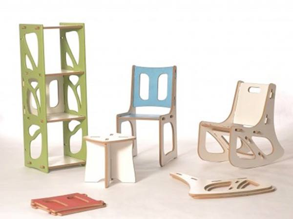 Multifunctional Kids Furniture Design Idea